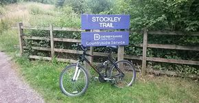 Stockley trail short ride.