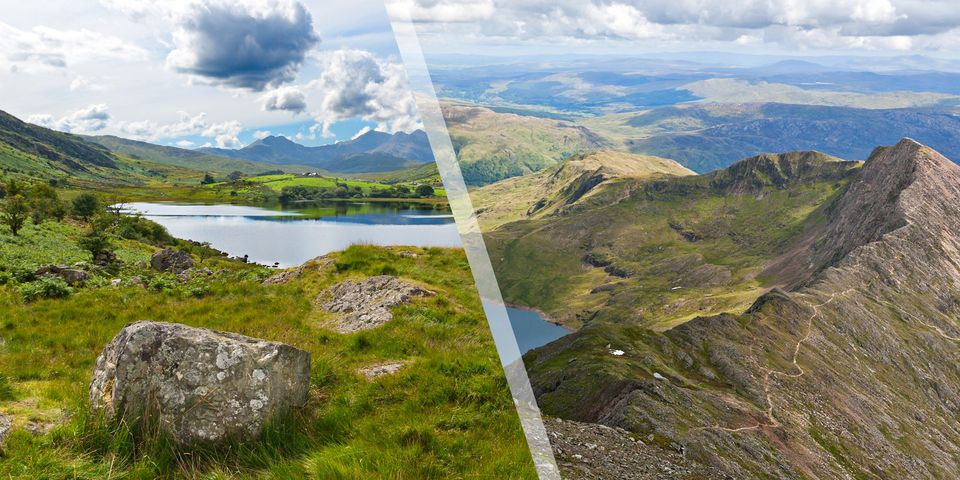 Great hillwalks in Snowdonia