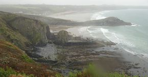 Whitesands Bay and St David's Head