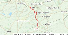 Frome to Weston, Bath