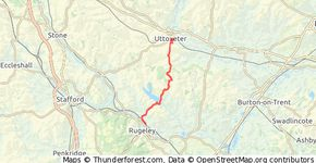 Uttoxeter to Rugeley
