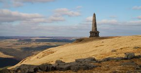 Withens Clough, Cragg Vale and Stoodley Pike