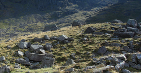 Scafell Pike, Hollow Stones path