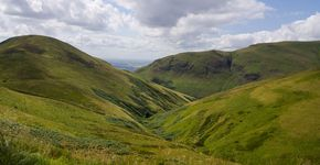 Ben Cleuch via the Drove road and Andrew Gannel