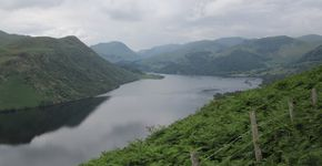 Gowbarrow from Aira Force