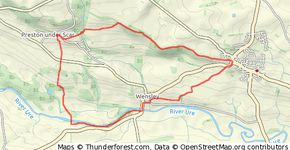 Leyburn Circular via the Shawl and Wensley