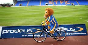 A cycle tour of Shrewsbury Town FC
