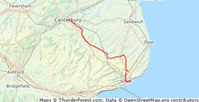 Pilgrim's Way Stage 10: Canterbury-Dover