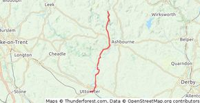 day 8888 Uttoxeter to Milldale