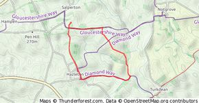 Route from Hazelton Cicular 25 Jun 2013
