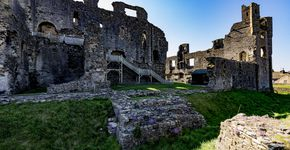 NORTH YORKSHIRE : Middleham Castle Circular