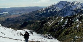 Coniston Old Man, Lake District (March)