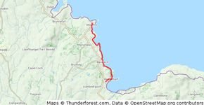 Moelfre to Red Wharf Bay