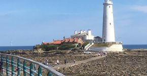 St. Mary's Lighthouse to North Shields Fish Quay