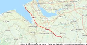 West Kirby to Beeston Castle